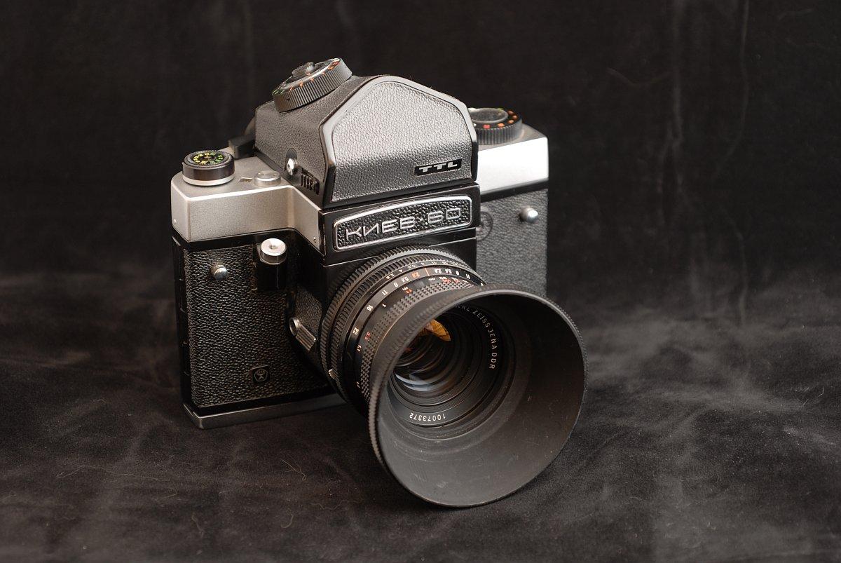 Analogkameras Analoge Fotografie Carl Zeiss Flektogon 1:4 50mm Aus Jena Objektiv Für Pentacon Six Hohe QualitäT Und Preiswert